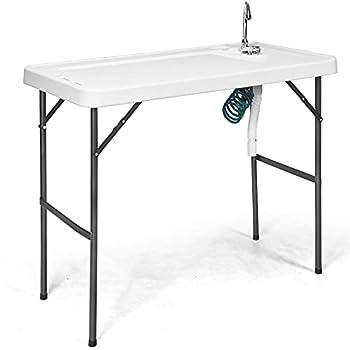 folding gun cleaning table