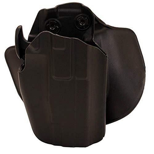Safariland 578 7TS GLS Pro-Fit, Standard Frame, Compact Slide, Paddle & Belt Loop Holster, Plain Black, Right Hand