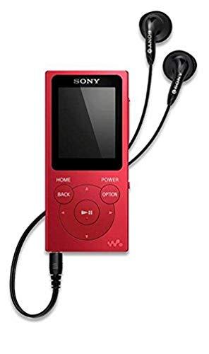 Sony NWE393R.CEW - Reproductor MP4 (reproducción de música, Foto, vídeos, Radio FM, 4 GB) Rojo