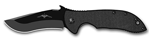 Emerson Mini Commander with Plain Black Blade