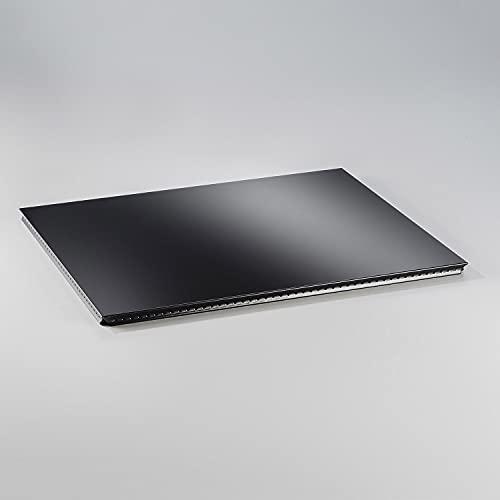 Swissmobilia Metallelement außentablar pour USM Haller 500 x 350 rAL 9011 Noir Graphite