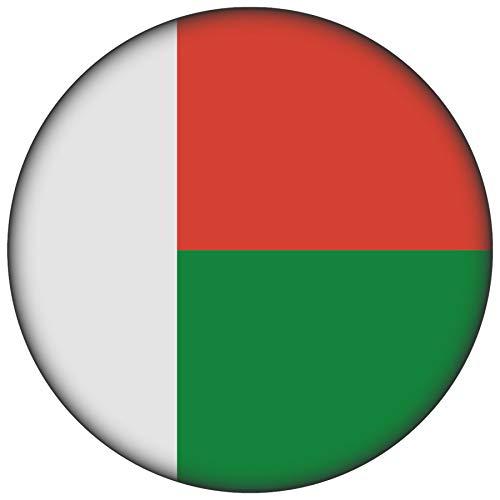FanShirts4u Button/Badge/Pin - I Love MADAGASKAR Fahne Flagge (MADAGASKAR/Flagge)