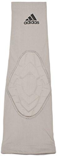 adidas - Paragomito Imbottito da Uomo, Uomo, Armschoner Padded Arm Sleeve, Grey - Light Granite, XL