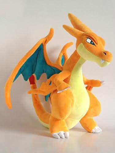 Pokemon Peluche Muñeca Pokémon Pokémon Pokémon Pokémon Mega dragón Que escupe Fuego xy muñeco de Peluche