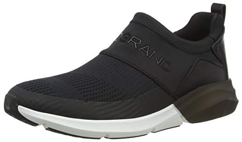 Cole Haan Women's Zerogrand All-Day Slip ON Runner STCHL Trainers, Black (Black/Black/Optic White Black/Black/Optic White), 4 (37 EU)