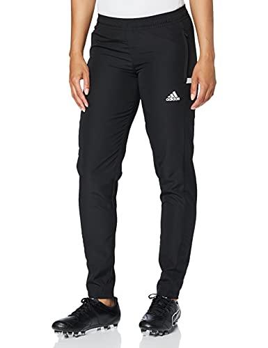 adidas Team 19 Pantalon de randonnée Femme, Noir/Blanc, S/40-42