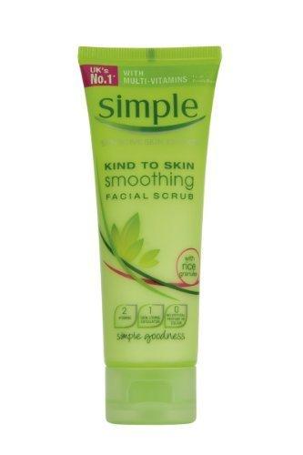 Simple Kind To Skin Smoothing Facial Scrub 75 ml by Simple H&b Ltd (English Manual)