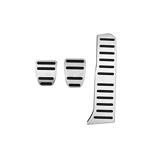 Hliybm para Audi TT 8J A3 8P Q3, para Octavia 2 A5, para Superb 2 Seat Leon 1P 1M Accesorios Pedal de Coche Cubierta de Pedal de Freno de Combustible