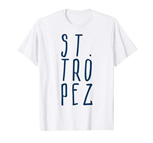 St. Tropez Cote d' Azur Frankreich Urlaub cooles Fun T-Shirt