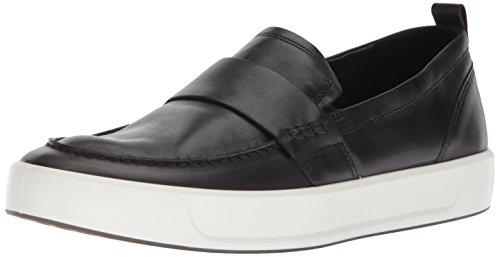ECCO Men's Soft 8 Slip on Sneaker, Black Loafer, 45 M EU (11-11.5 US)
