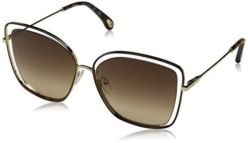 Chloè dames CE133S 213 60 zonnebril, Havana/Brown