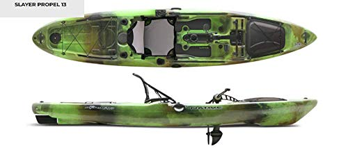 Native Watercraft Slayer 13 Propel Top - Kit de pesca para kayak