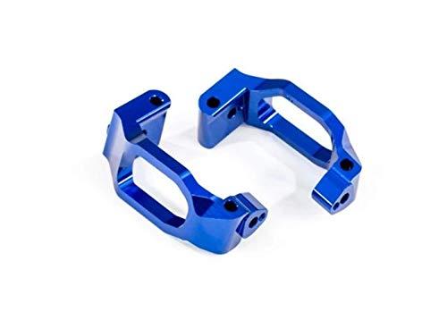 Traxxas 8932X Caster Blocks 6061-T6 Alum (Blue-Anodized), Left & Right