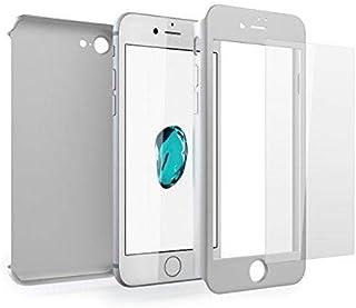 كفر - جراب ايفون 7 بلس 360 درجة حماية مع شاشة زجاجية للحماية