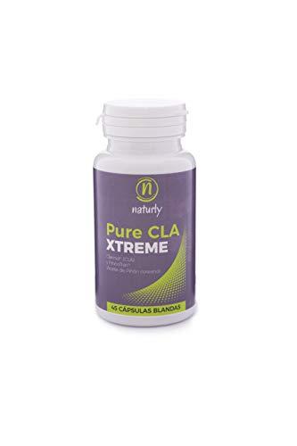 CLA Quemagrasas potente para Adelgazar, Crecimiento Muscular. Suplemento Natural para Perder Peso. Acido Linoleico Conjugado 1500 mg