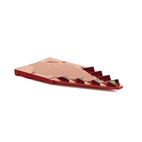 Börner Einschübe V5 Powerline (10mm, rot) Pommesschneider Würfelschneider Streifen schneiden Zubehör V-Hobel