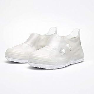 Zhouzl Maison & Jardin Chaussure Basse Toe Covers Les Hommes et Les Femmes Non-Slip Fond épais Flip Boucle Bottes de Pluie...