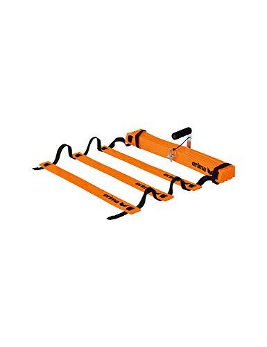 Erima Unisex– Erwachsene Koordinationsleiter Flex, neon orange/sch, 1