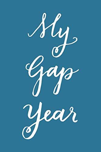 My Gap Year Journal Calligraphy Notebook