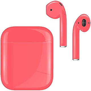 Wireless Bluetooth Earbuds Coral Gloss