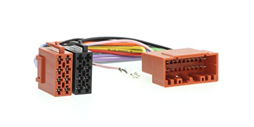 RedLine Solutions RL 010802 Conector ISO para Chrysler 01, Dodge Caliber, Jeep Cherokee, Compass 06-09, Wrangler 02-07