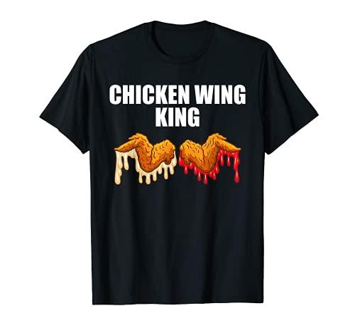 Alitas de pollo crujientes con alas de pollo Camiseta