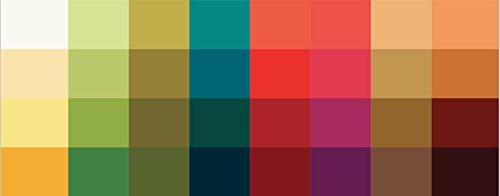Großer Farbpass Herbsttyp 32 Farben Farbkarte Herbst Herbstfarben Herbsttyp, Farbkarte, Herbstfarben Herbsttyp,warmer Farbtyp, Farbfächer, Farbberatung, Typberatung, Farbkarten, Farbpalette