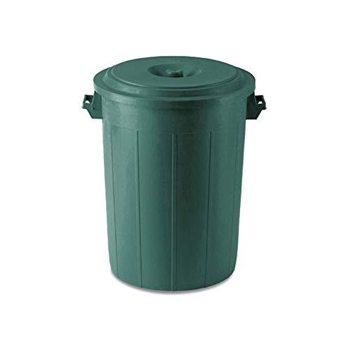 Stefanplast rifiuti Drum, 70l, Verde Metallizzato, 30x 45x 60cm