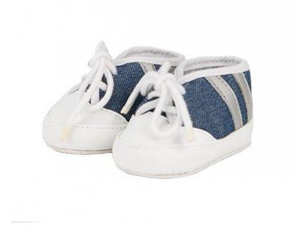 Gen 13 Chaussures 42 cm Lilou : Blanche et Bleue - smoby - Accessoire Poupee / Poupon