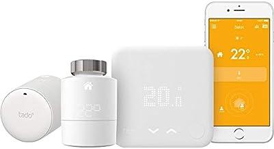 Tado–Kit Home–Termostato con 2cabezales thermostatiques conectados (