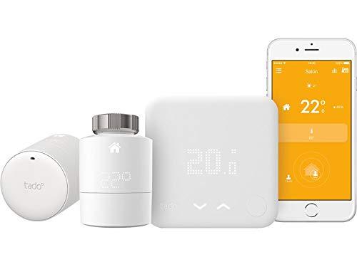 Tado Kit Home Termostato con 2testine termostatiche collegati
