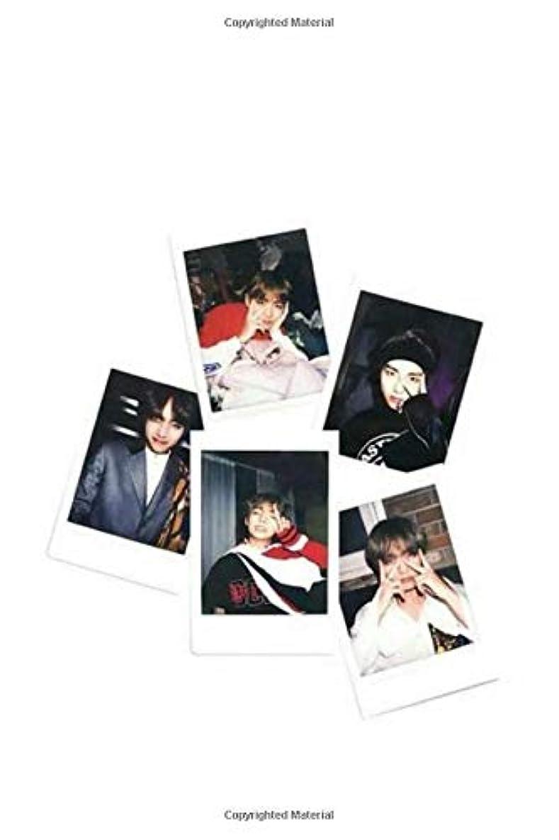 君主巨大偶然のBTS 'Taehyung' Polaroid Journal