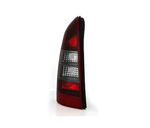 V-maxzone Vt586l gauche arrière Queue de lumière en verre transparent fumée rouge