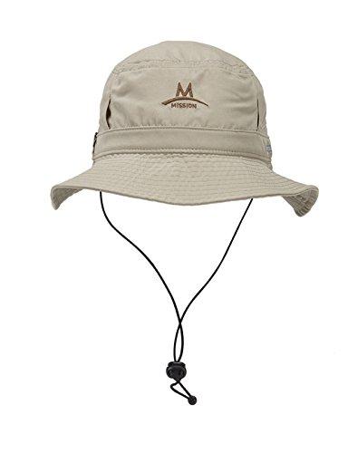 Mission Bucket Hat Herren Hut, beige, Größe OSFM