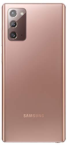 Samsung Galaxy Note 20 (Mystic Bronze, 8GB RAM, 256GB Storage) with No Cost EMI/Additional Exchange Offers