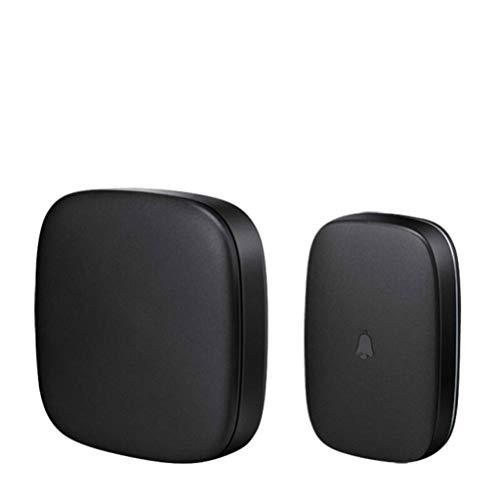 XZ15 draadloze deurbel Touch draadloze deurbel afstandsbediening elektronische waterdichte deurbel draadloos thuis zwart