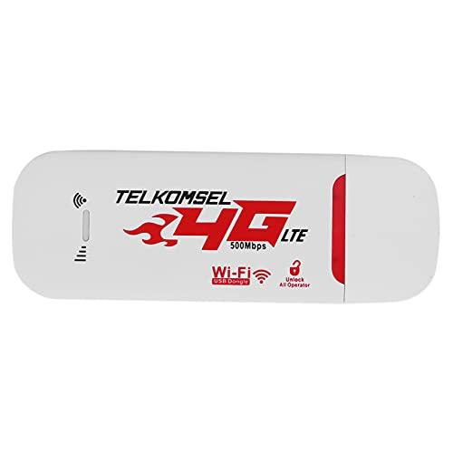 Pceewtyt Router portatile 4G / 3G LTE per auto, hotspot 150 Mbps, senza fili, USB, dongle mobile a banda larga modem SIM Card sbloccato