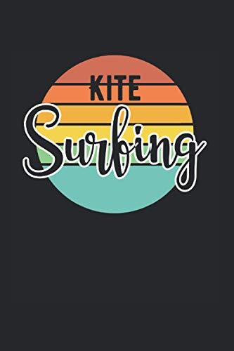 Kite Surfing | Kitesurfen Tagebuch Geschenkidee: Trainingsnotizen Notizbuch A5 120 Seiten liniert