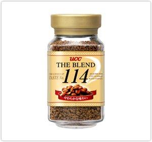 《セット販売》 UCC ザ・ブレンド 114 瓶 (90g)×3個セット インスタントコーヒー