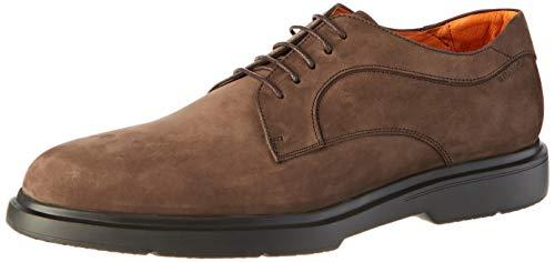 Stonefly Truman Nubuk, Zapatos de Cordones Derby Hombre, Marrón (Fern Brown 410), 43 EU
