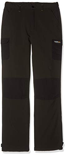 Regatta Winter Kinderhose, RKJ018, Schwarz, RKJ018 FR : L (Taille Fabricant : 11-12)