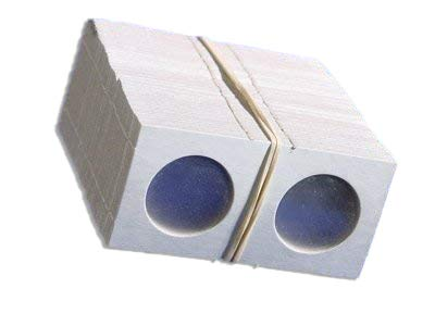 100 1.5×1.5 Cardboard Coin Holders QUARTERS