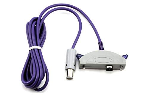 Enlace del cable para Gameboy Advance a Nintendo GameCube GC 1.8m Lead GBA o SP