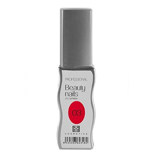 MH Cosmetics Gel Polish Vernis semi-permanent 003 Coke Red 1 pièce 10 ml