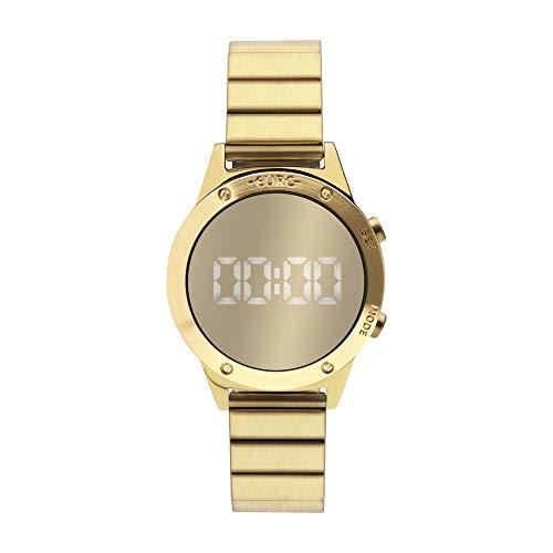 Relógio, Digital, Euro, EUJHS31BAB/4D, Feminino, Dourado