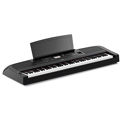Yamaha DGX670B 88-Key Weighted Digital Piano, Black (Furniture Stand Sold Separately)