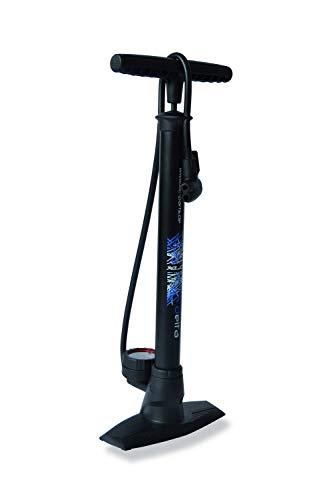 XLC Unisex– Erwachsene Luftpumpe und Standpumpe Delta PU-S04, Schwarz, One Size