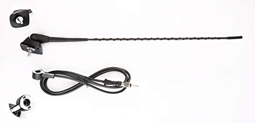 Antenna Auto, Antenna Marine Tetto di base + Supporto per Peugeot 106 205 206 306 307 309 406 806 807 YOJIAHUA