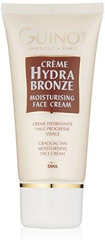 Guinot - Crema facial hidratante bronceadora gradual, 50 ml
