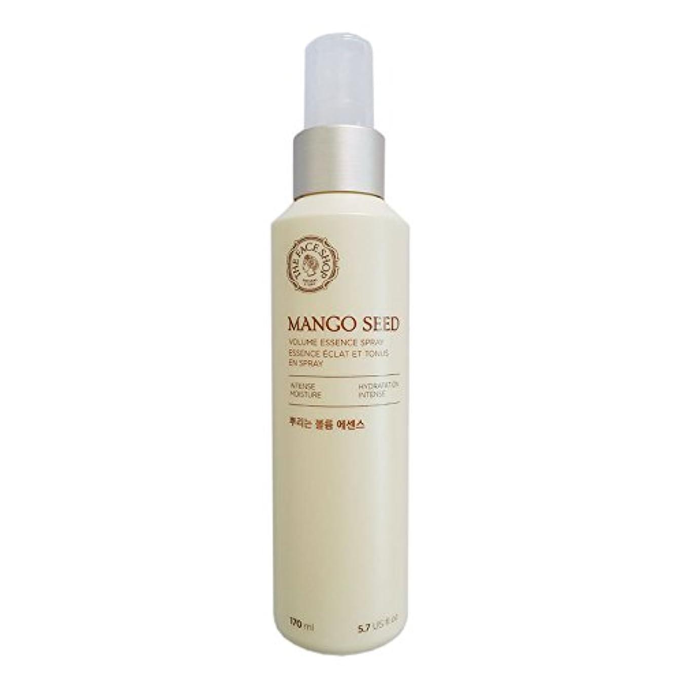 赤面ちっちゃい受付[ザフェイスショップ] THE FACE SHOP マンゴシードスプレーボリューム?エッセンス(170ml) The Face Shop Mango Seed Volume Essence Spray (170ml) [海外直送品]